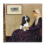 Mom's Tri Cavalier Tile Coaster