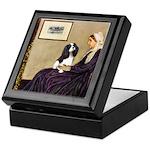 Mom's Tri Cavalier Keepsake Box