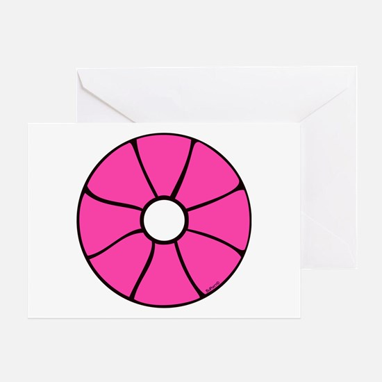 Pink Peonee Greeting Card