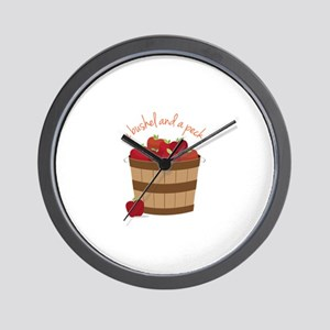 Bushel and a Peck Wall Clock
