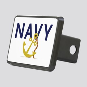 Navy Anchor Hitch Cover