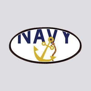 Navy Anchor Patches