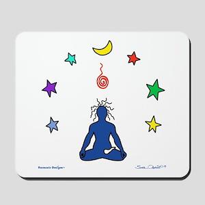 Yogi Electric Blue Mousepad