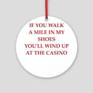 casino Ornament (Round)
