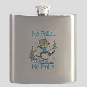 No Falls... No Balls Flask
