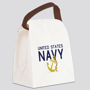 United States Navy Canvas Lunch Bag