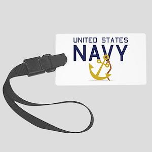 United States Navy Luggage Tag