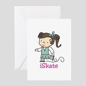 I Skate Greeting Cards