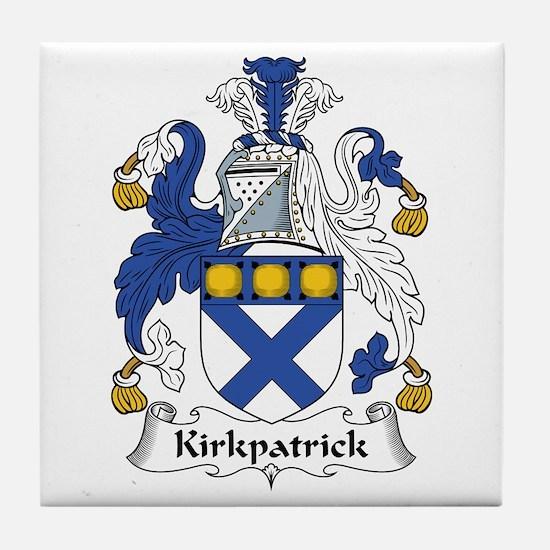 Kirkpatrick Tile Coaster