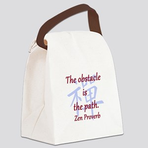 The Obstacle Is the Path Canvas Lunch Bag