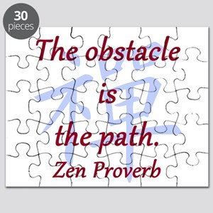 The Obstacle Is the Path Puzzle