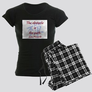 The Obstacle Is the Path Women's Dark Pajamas