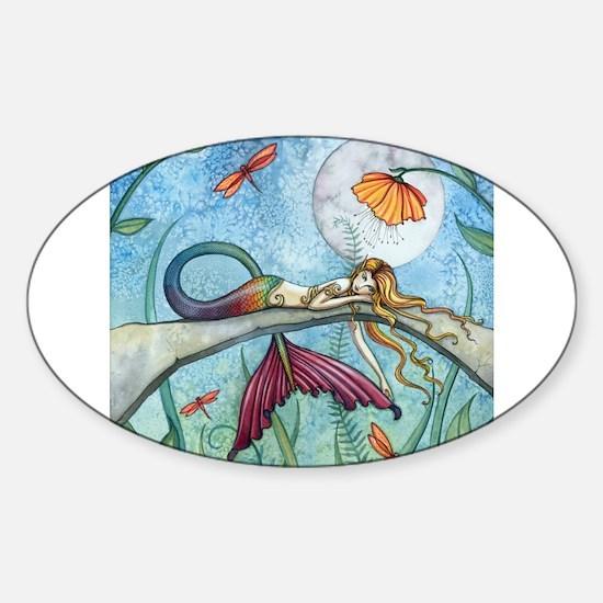 Cute Fantasy Sticker (Oval)