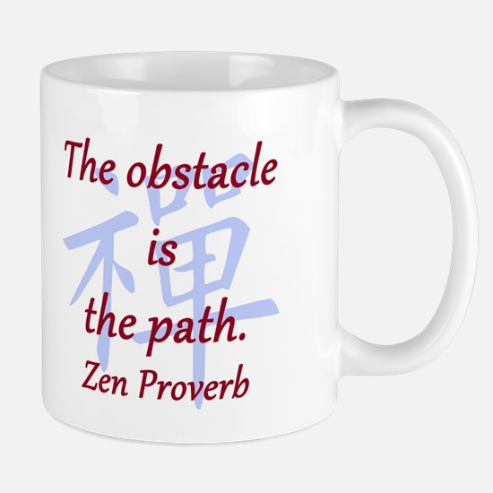 The Obstacle Is the Path Mug