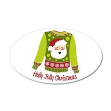 Holly Jolly Christmas Wall Decal