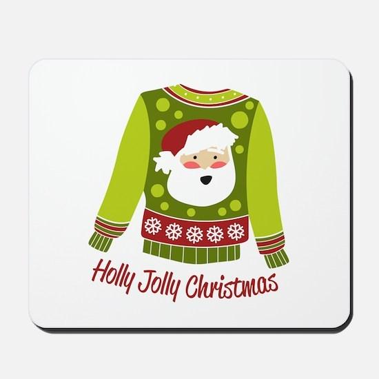 Holly Jolly Christmas Mousepad