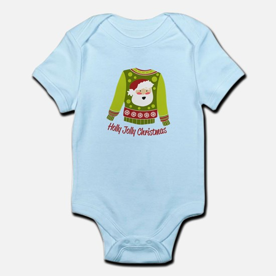 Holly Jolly Christmas Body Suit