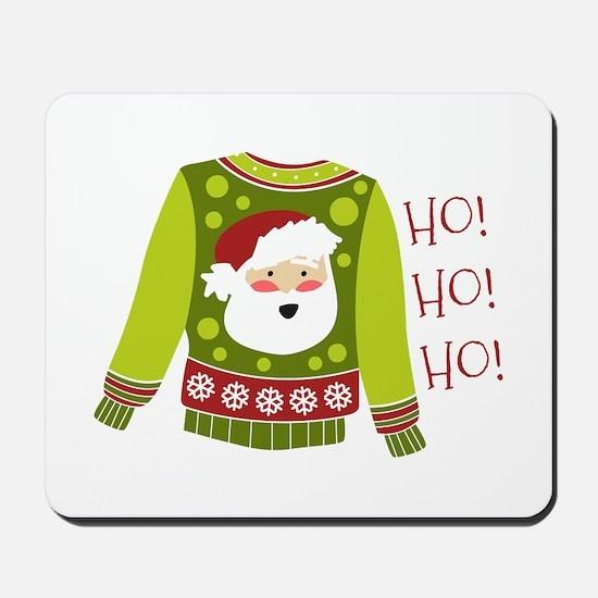 Ho! Ho! Ho! Mousepad