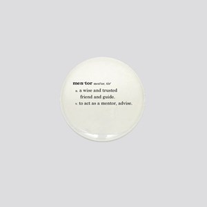 Mentor Definition Mini Button (10 Pack)