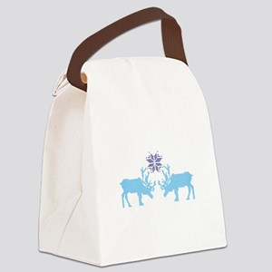 Sweater Moose Canvas Lunch Bag