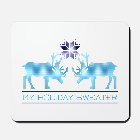 My Holiday Sweater Mousepad
