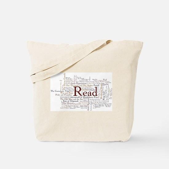Cute Reading Tote Bag