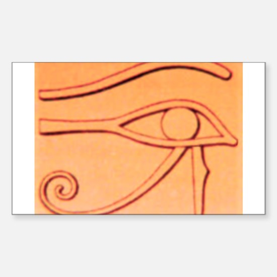 Right Eye Of Horus Rectangle Decal