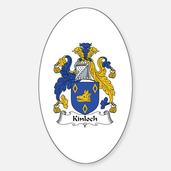Kinloch Oval Decal