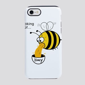 Funny Bee - Honey iPhone 7 Tough Case