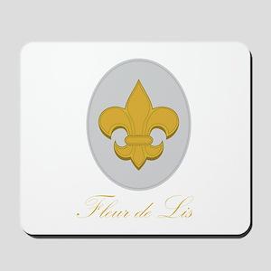 Fleur de Lis Mousepad