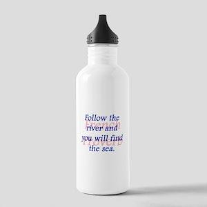 Follow the River Water Bottle