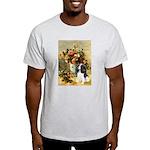 Flowers & Tri Cavalier Light T-Shirt
