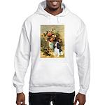 Flowers & Tri Cavalier Hooded Sweatshirt