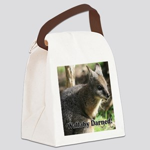 Wallaby Darned Canvas Lunch Bag