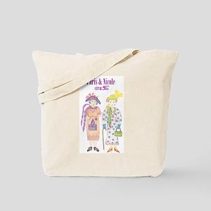 Paris & Nicole circa 2057 Tote Bag