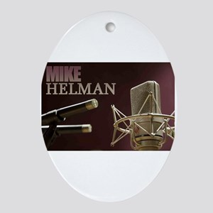 Mike Helman Oval Ornament