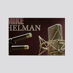 Mike Helman Rectangle Magnet