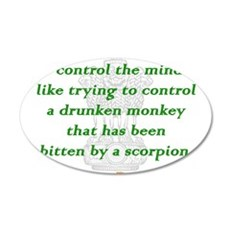 To Control the Mind Wall Decal