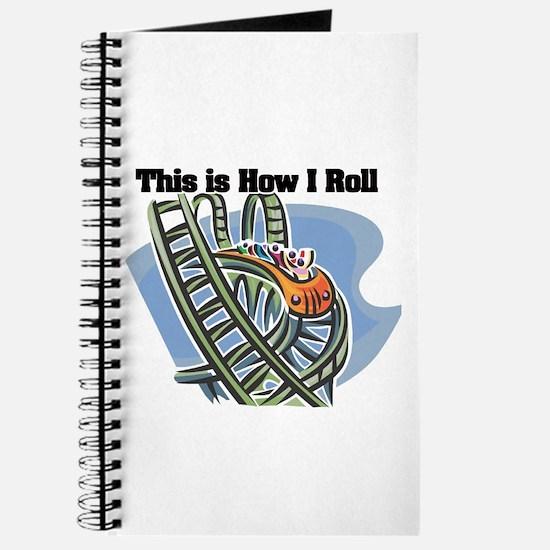 How I Roll (Roller Coaster) Journal