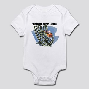 How I Roll (Roller Coaster) Infant Bodysuit