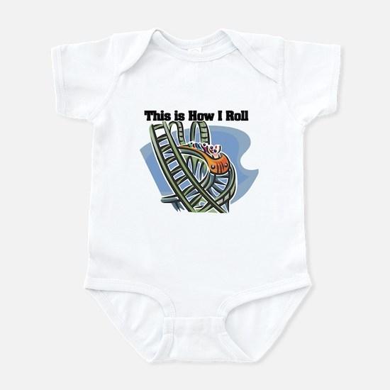 How I Roll (Roller Coaster) Infant Bodysuit