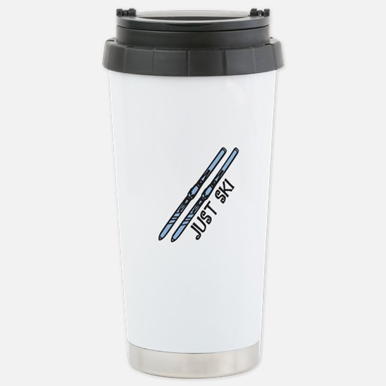 Just Ski Travel Mug