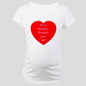 V-Insensitive Maternity T-Shirt