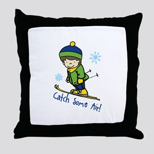 Catch Some Air Throw Pillow