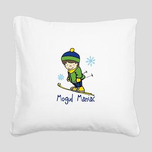 Mogul Maniac Square Canvas Pillow