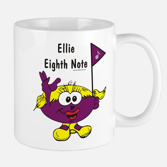 Ellie Eighth Note Mug
