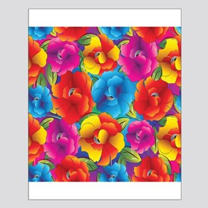 Colorful Flowers Posters Small Poster