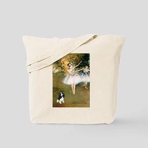 2 Dancers & Tri Cavalier Tote Bag