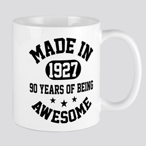Made in 1927 Mugs