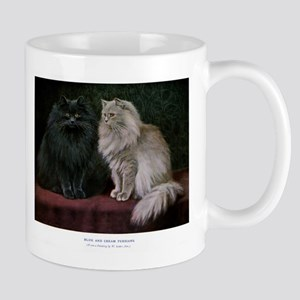 Gorgeous Black and White Persian Cats Mugs